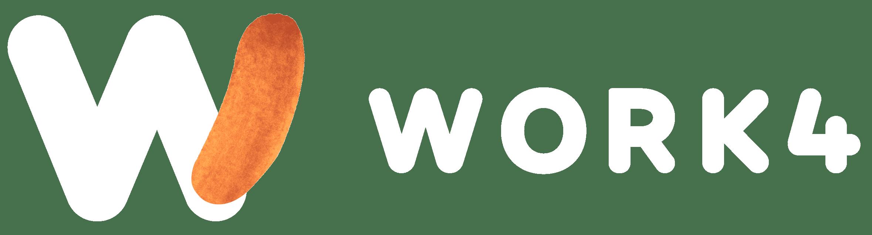 Logo work4 blanc
