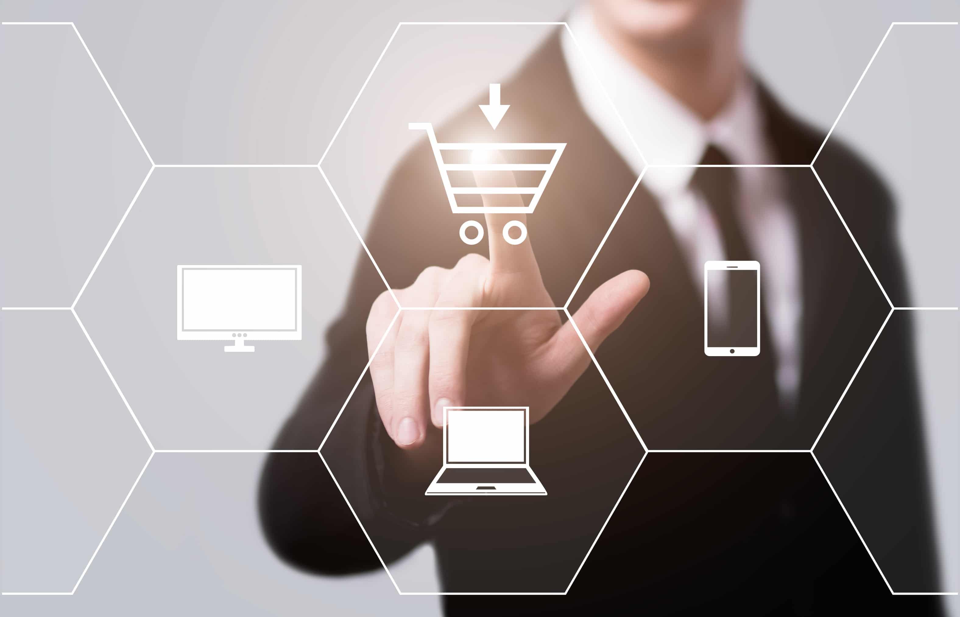 illustration du e-commerce