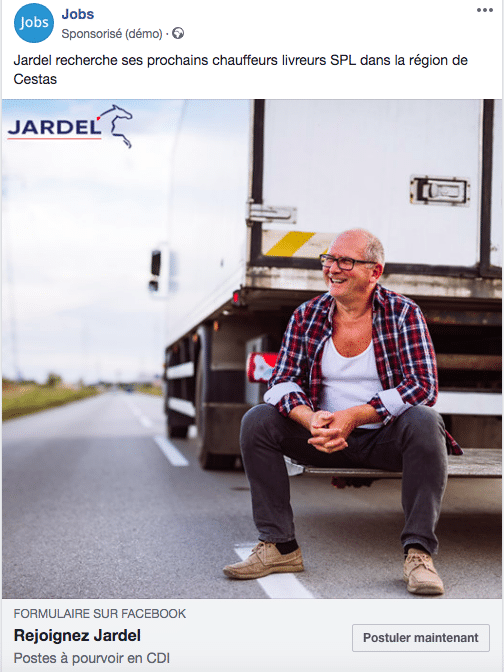 campagne recrutement Jardel