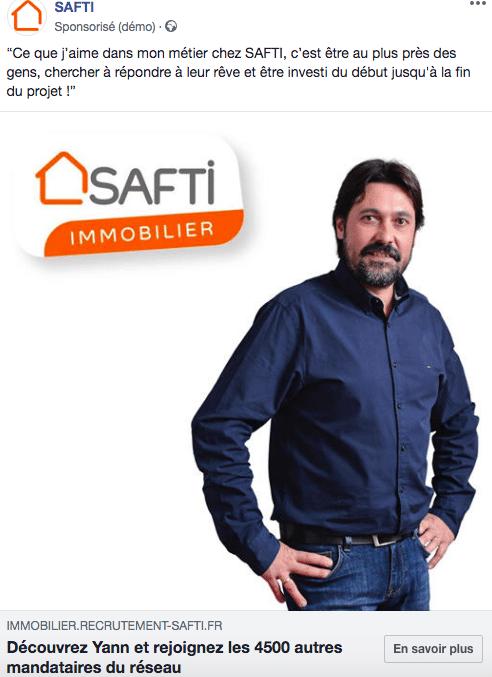 campagne recrutement Safti