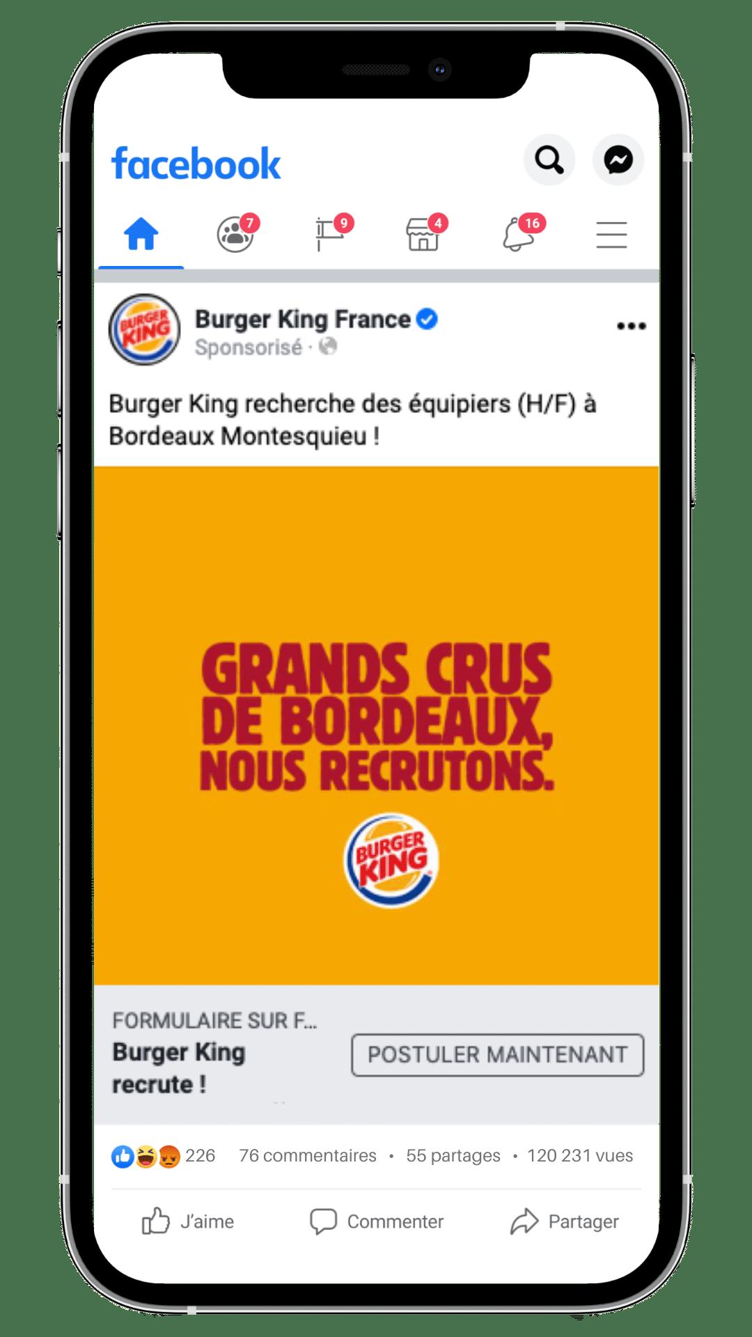 Ads Burger King