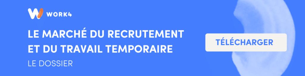 le marché du recrutement et du travail temporaire