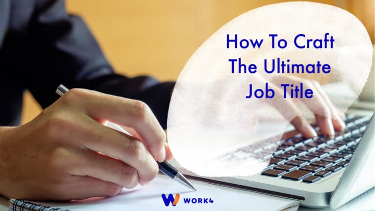 How To Craft the Ultimate Job Title