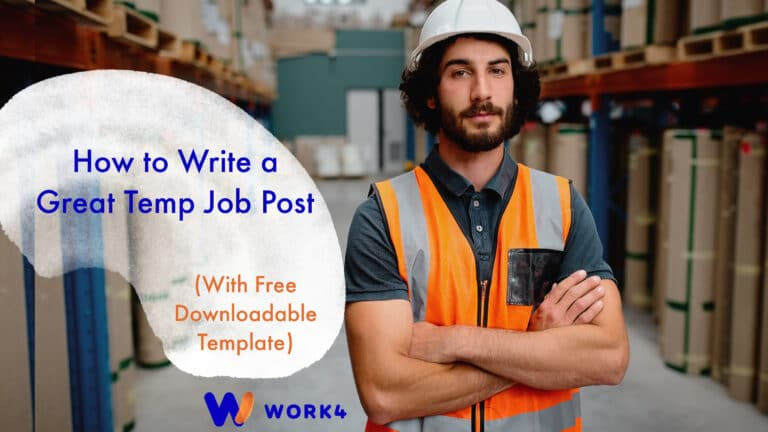 How to Write a Great Temp Job Post