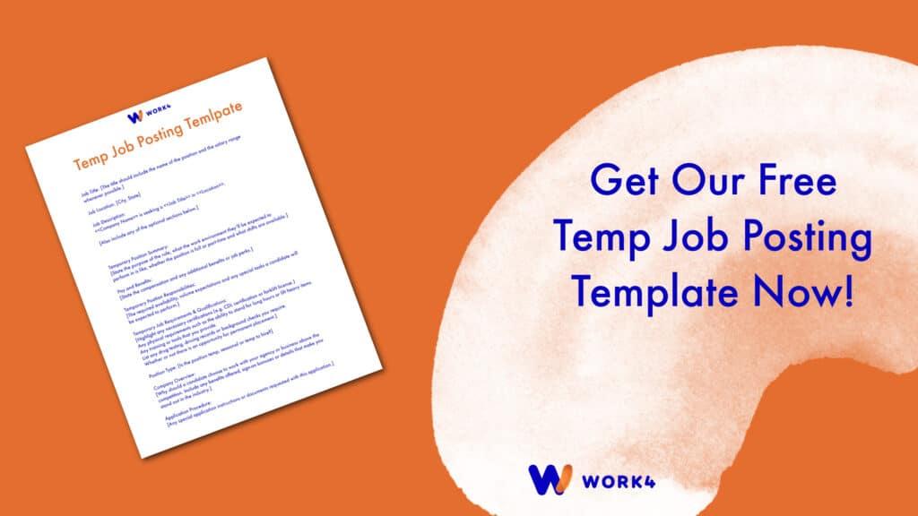Temp Job Template