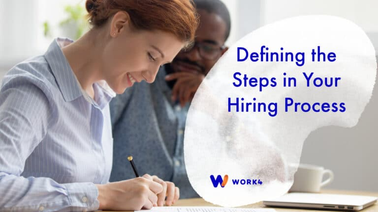 Defining the steps in your hiring process
