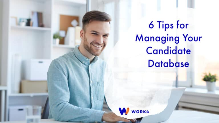 Managing Your Candidate Database