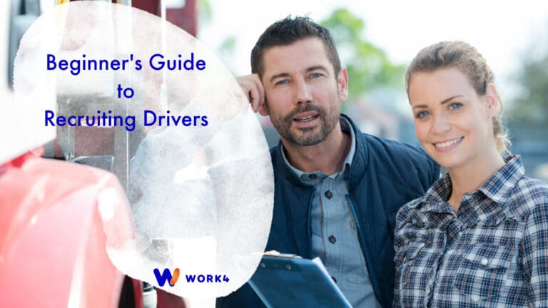 Beginners guide to recruiting drivers